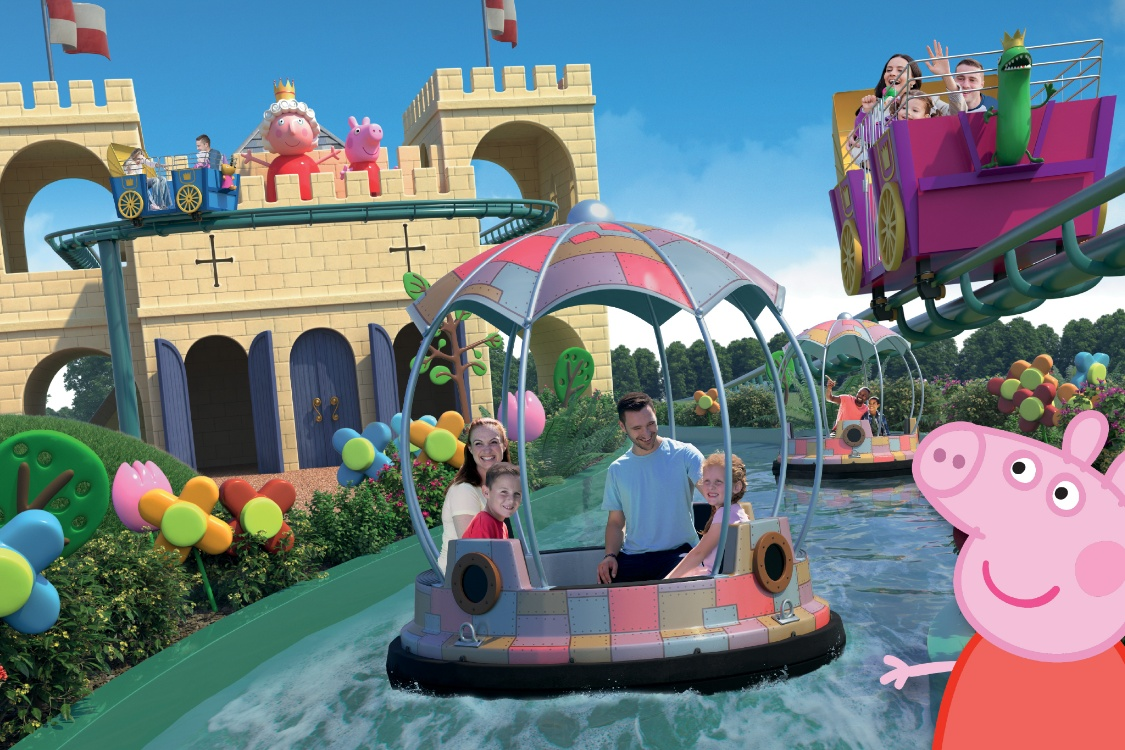 Win A Golden Ticket For Your Family To Peppa Pig World Priority