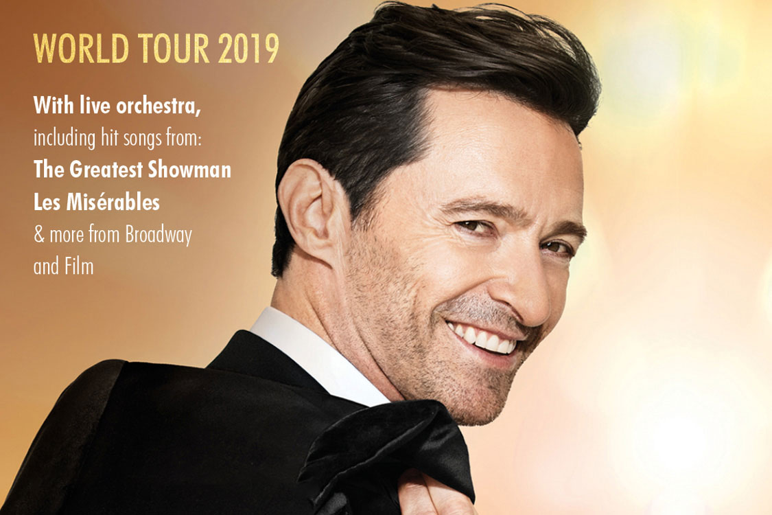 Win a VIP experience to see Hugh Jackman live at The O2