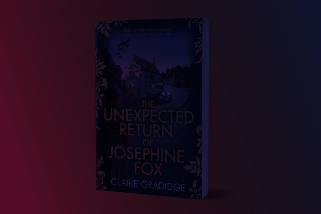 The Unexpected Return of Josephine Fox' by Claire Gradidge - Priority