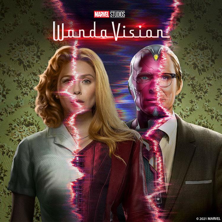 Photograph: Wandavision poster
