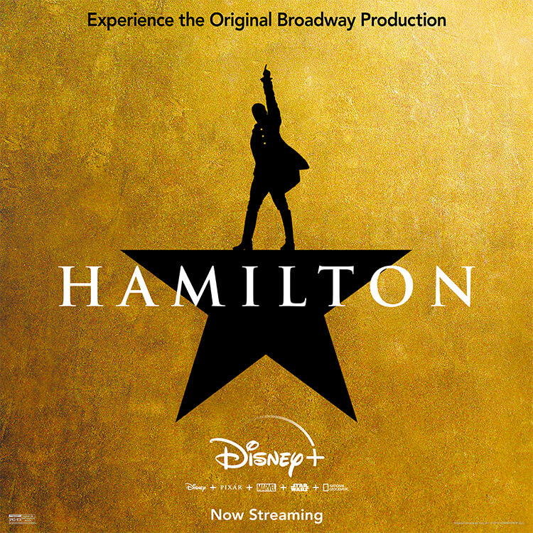 Photograph: poster of Hamilton film