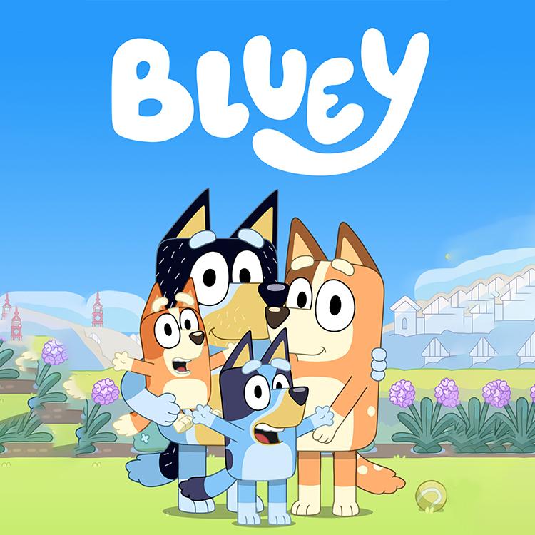 Photograph: Bluey kids cartoon image