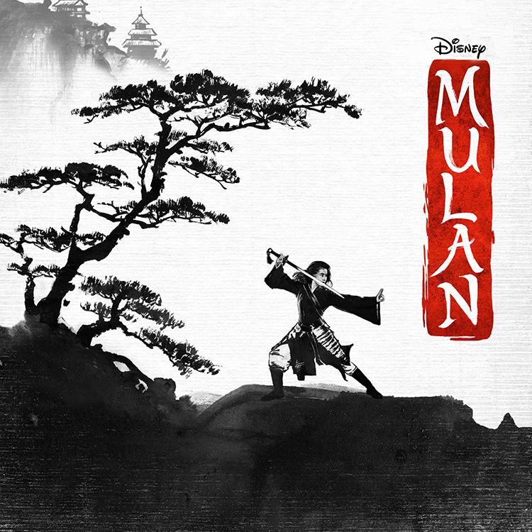 Photograph: Mulan movie poster
