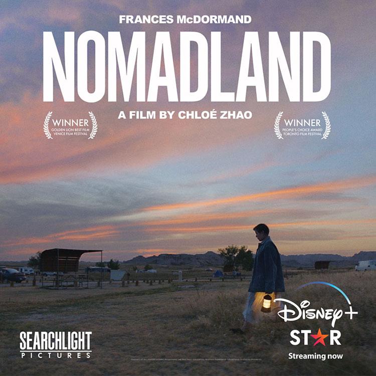 Photograph: Nomadland poster
