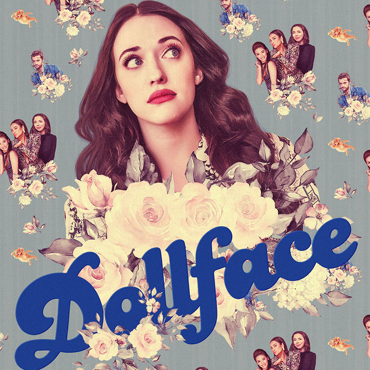 Photograph: Dollface poster