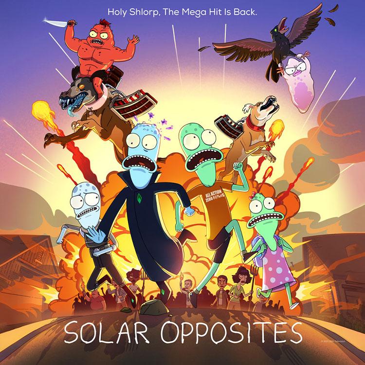 Photograph: Solar Opposites poster
