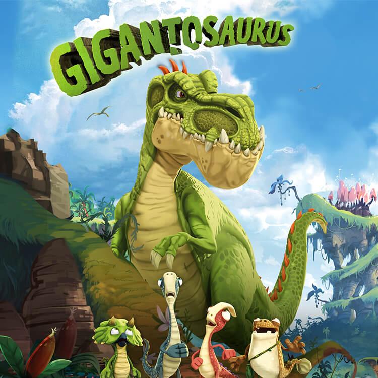 Photograph: Gigantosaurus poster