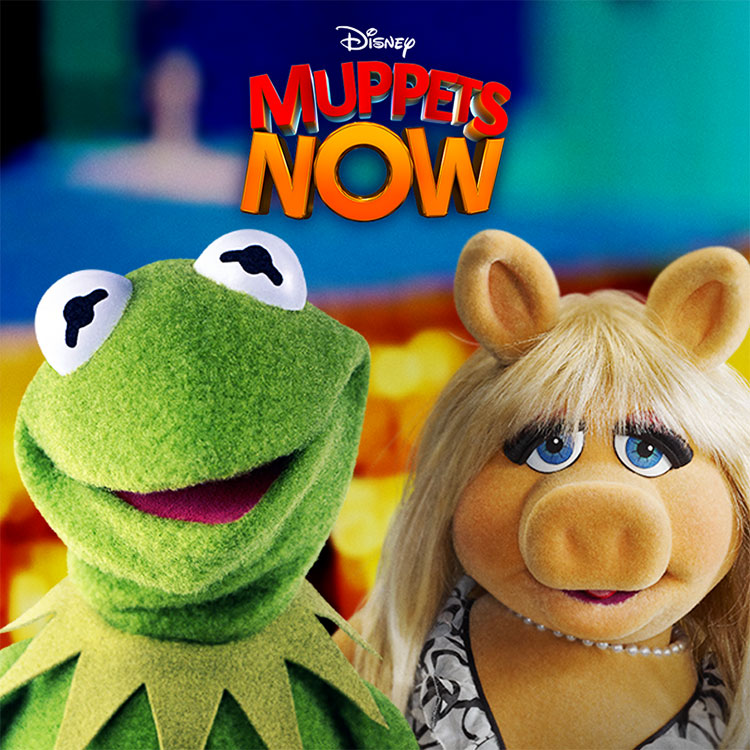 Photograph: Muppets Now poster
