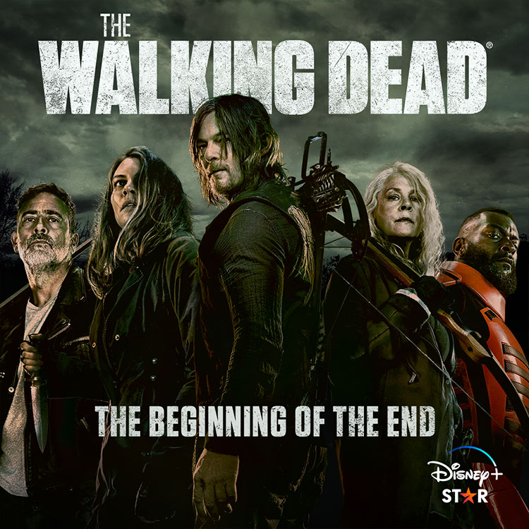 Photograph: The Walking Dead poster