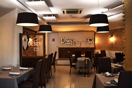 Desencaja, Restaurante Madrid Hispanoamérica #0