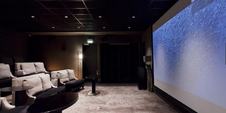 La Salle de Projection de l'Hôtel Marignan Champs Elysées, Salle de location Paris Champs Elysées  #0