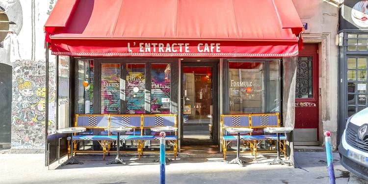 L'Entracte Café, Bar Paris Les Batignolles #0
