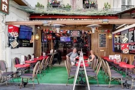 Le story latin (FERMÉ), Bar Paris Saint-Michel #0