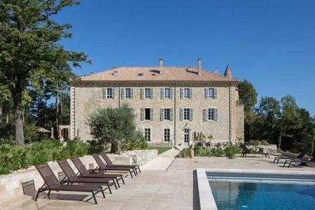 Château Les Oliviers De Salettes, Salle de location Charols  #0