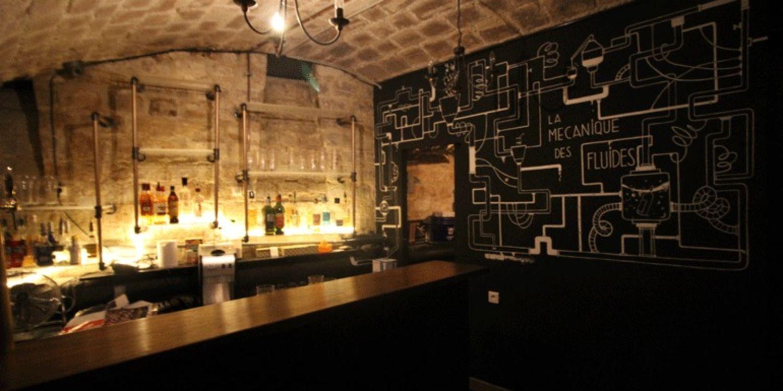Très La Mécanique des Fluides Bar Paris, idéal pour un verre TD06