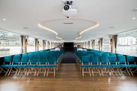Les Bateaux Lyonnais : Hermès II, Salle de location Lyon Perrache #0