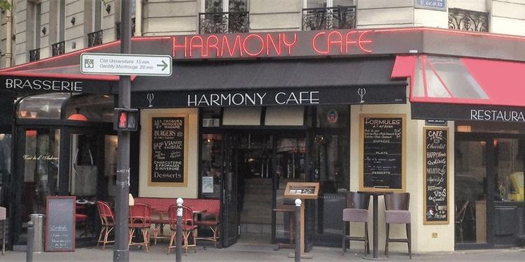 Harmony Café, Bar Paris  #1
