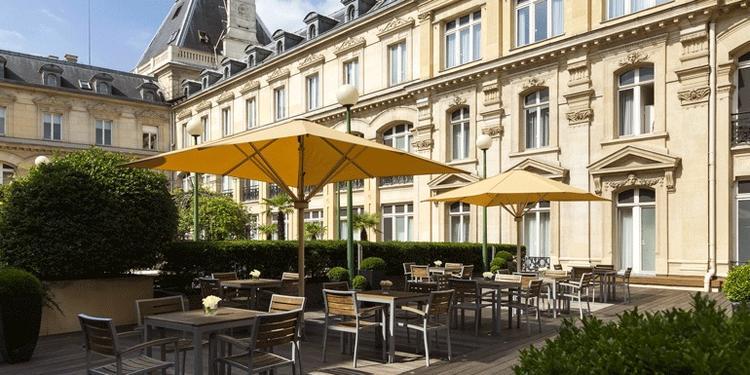 Crowne Plaza République - Terrasse, Salle de location Paris République #0