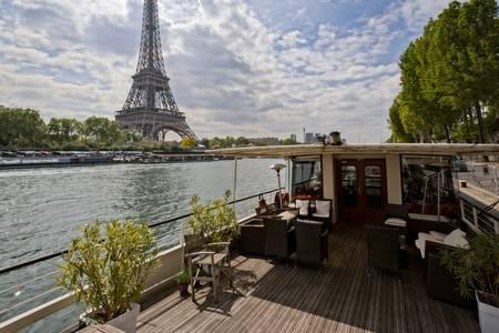 Péniche Eiffel, Salle de location Paris Trocadero #0