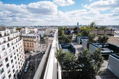 Kwerk Haussmann : Le Rooftop, Salle de location Paris Faubourg-du-Roule #0