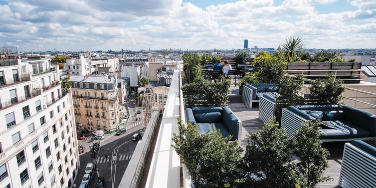 Kwerk Haussman : Le Rooftop, Salle de location Paris Faubourg-du-Roule #0