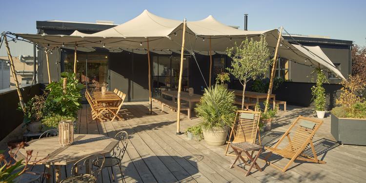 Studio Rouchon : Le restaurant et son rooftop, Salle de location Saint-Denis La Plaine Saint-Denis #0