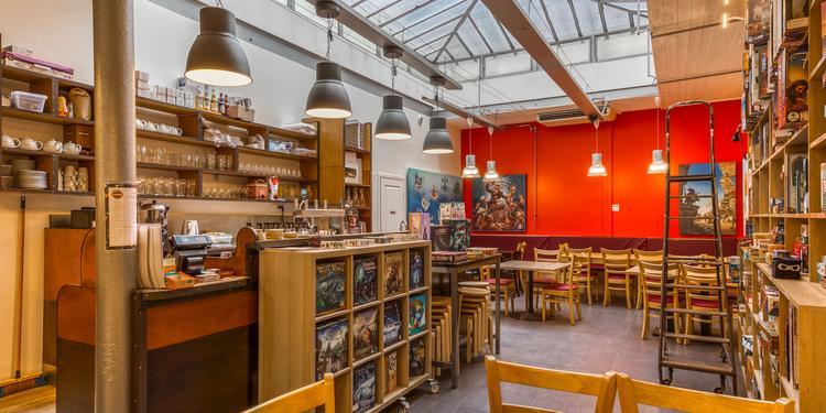 La Revanche - Bistrot ludique, Bar Paris Quinze-Vingts #0