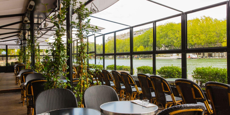 Le Corso - Quai de Seine, Restaurant Paris