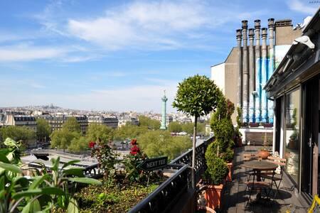Secret Rooftop, Salle de location Paris Bastille #0