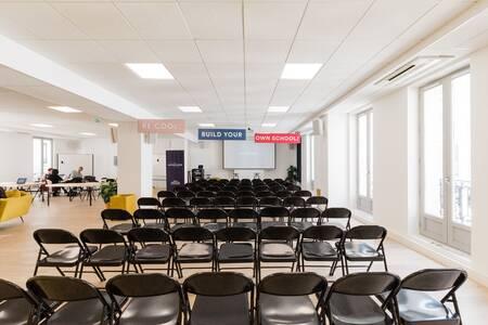 Schoolab Saint-Lazare : Le Préau, Salle de location Paris Sentier #0