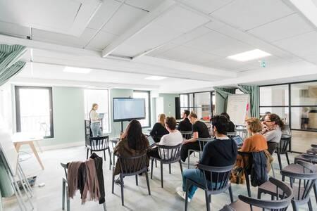Schoolab Saint-Lazare : Full Jardin d'Hiver, Salle de location Paris Saint Georges #0