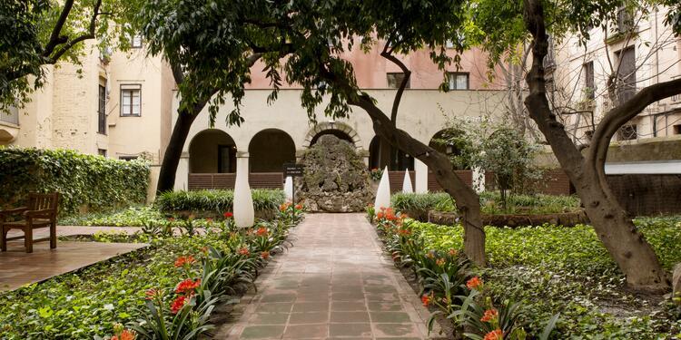 Petit Palace - Boquería Garden, Sala de alquiler Barcelona Barrio Gótico #0