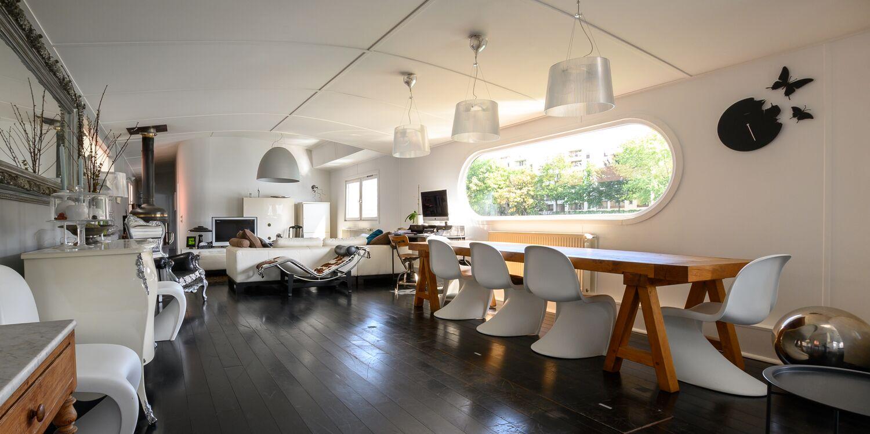 La Péniche des Amoureux, Salle de location Boulogne-Billancourt Billancourt-Rives de Seine #1
