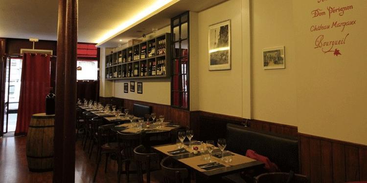 L'Envigne, Restaurant Paris Saint Lazare #1