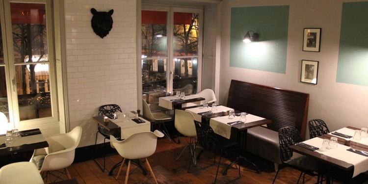 Le Grizzli Café, Restaurant Paris Beaubourg #0