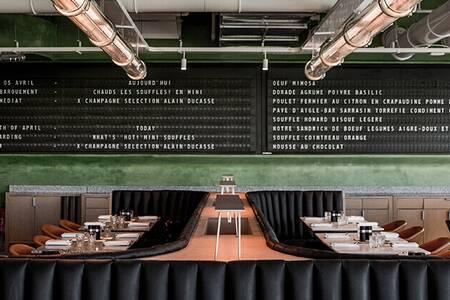 Champeaux - Restaurant, Restaurant Paris Les Halles #0