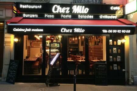 Chez Milo, Restaurant Paris Saint-Lambert #0