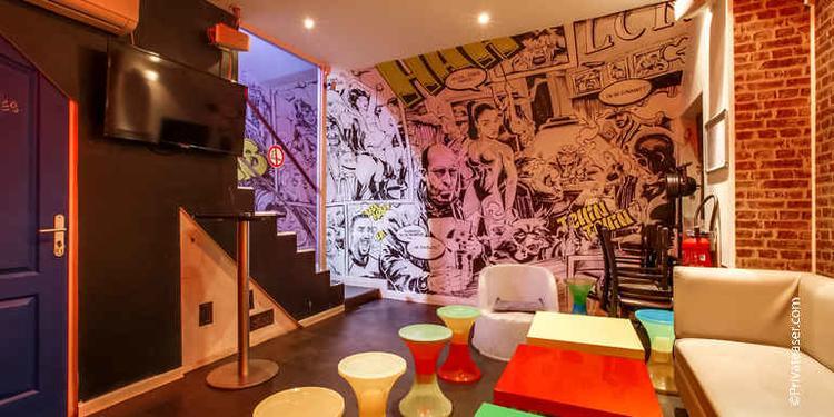Le Comic's Bar, Bar Paris Bourse #11