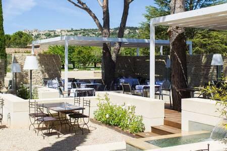 Hôtel Restaurant Carcarille, Salle de location Gordes  #0
