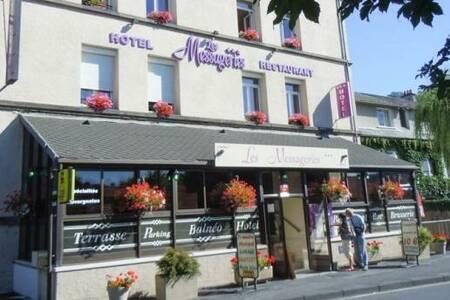 Hôtel Restaurant Les Messageries, Salle de location Murat  #0