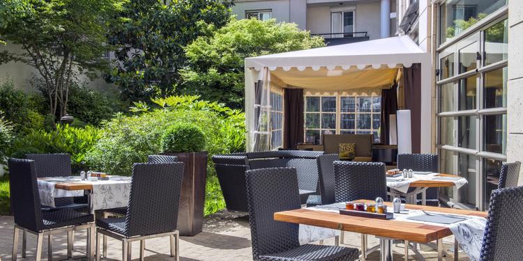 Hôtel Ampère - Restaurant et Salons, Salle de location Paris Plaine-de-Monceaux #0
