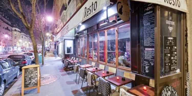 La Gouttière, Bar Paris Parmentier #0