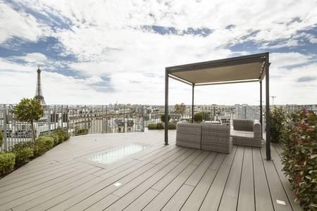 Le Rooftop Copernic, Salle de location Paris Étoile #0