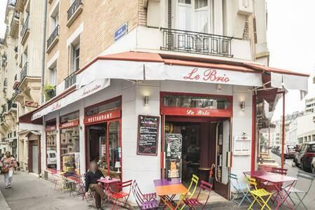 Le Brio, Restaurant Paris Grandes-Carrières #0