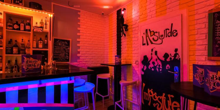 L'Absurde Imposture, Bar Paris Sacré-Coeur #5