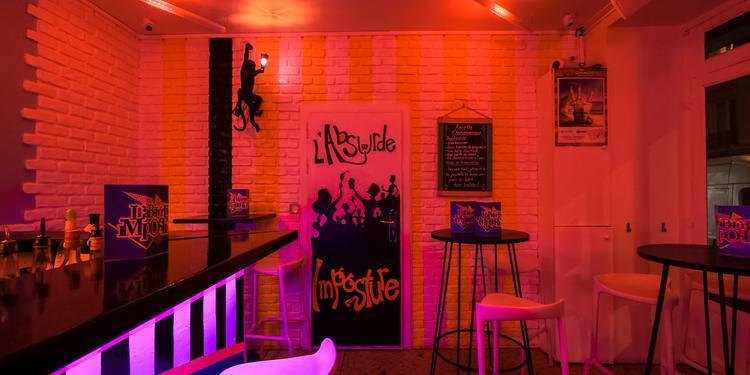 L'Absurde Imposture, Bar Paris Sacré-Coeur #6