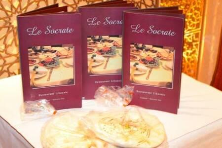 Le Socrate, Restaurant Nice Acropolis #0