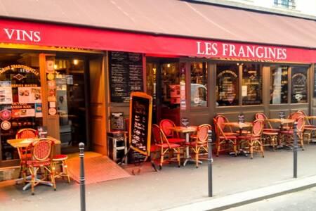 Les Frangines, Restaurant Paris Plaisance #0