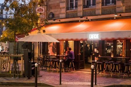 Restaurant l'Affiche Paris (FERMÉ), Bar Paris Auteuil #0