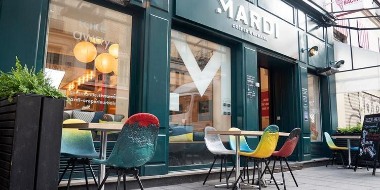 Mardi Crêperie Urbaine - Bourse, Restaurant Paris  #0